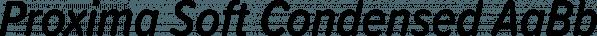 Proxima Soft Condensed font family by Mark Simonson Studio