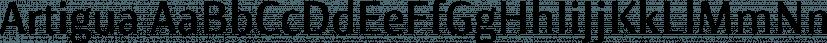 Artigua font family by Maciej Włoczewski