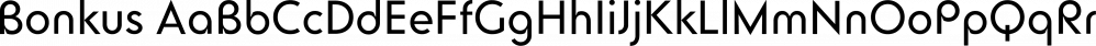 Bonkus font family by Herzberg Design