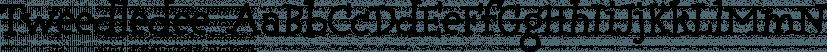 Tweedledee font family by Typadelic