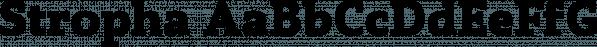 Stropha font family by Tour de Force Font Foundry