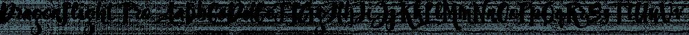 Dragonflight Pro font family by Fontforecast