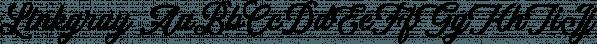 Linkgray font family by Letterhend Studio