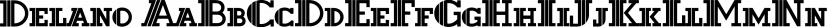 Delano font family by FontSite Inc.