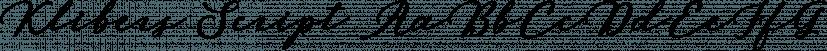 Klibers Script font family by Picatype Studio