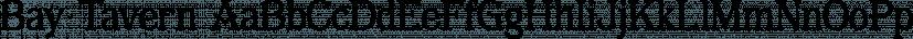 Bay Tavern font family by FontMesa