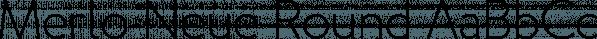 Merlo Neue Round font family by Typoforge Studio