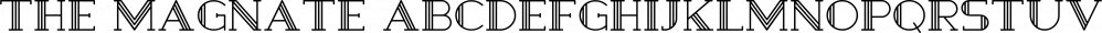The Magnate font family by Tugcu Design Co
