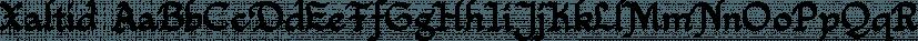 Xaltid font family by Ingrimayne Type