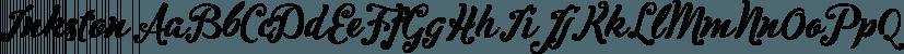 Inkston font family by Fenotype
