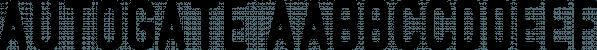 Autogate font family by Letterhend Studio