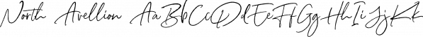 North Avellion font family by Letterhend Studio