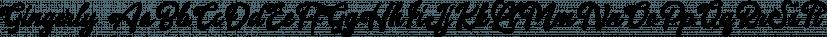 Gingerly font family by Letterhend Studio