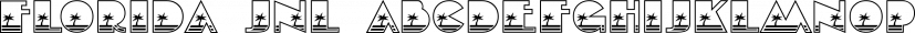 Florida JNL font family by Jeff Levine Fonts