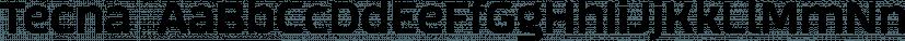 Tecna  font family by Corradine Fonts