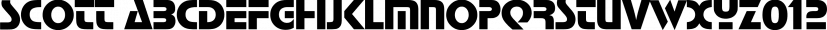 Scott font family by FontSite Inc.