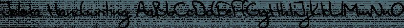 Jelena Handwriting font family by SoftMaker