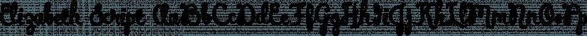Elizabeth Script font family by Kimmy Design