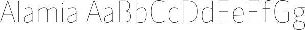Alamia font family by Ani Dimitrova