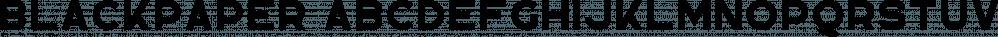 Blackpaper font family by VPcreativeshop