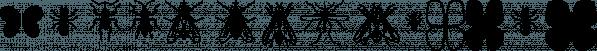XComputerBuggz font family by Ingrimayne Type