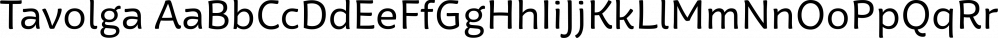 Tavolga font family by Ivan Petrov
