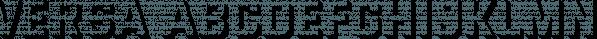 Versa font family by Studio James Lewis