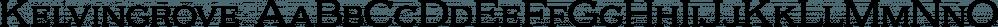 Kelvingrove font family by Typodermic Fonts Inc.