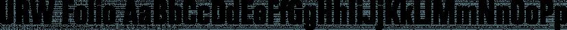 URW Folio font family by URW Type Foundry