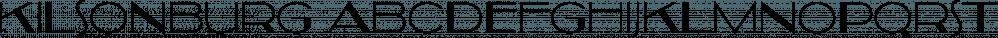 Kilsonburg font family by Typodermic Fonts Inc.