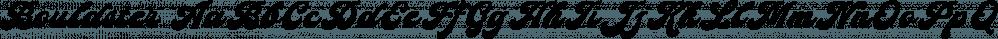 Bouldster font family by Letterhend Studio