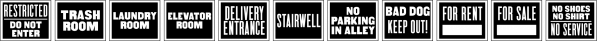 Utility Signage JNL font family by Jeff Levine Fonts