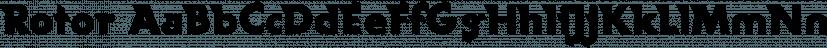 Rotor font family by Wiescher-Design
