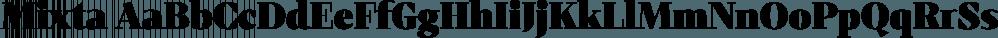 Mixta font family by Latinotype