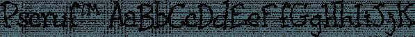 Pscruf™ font family by MINDCANDY
