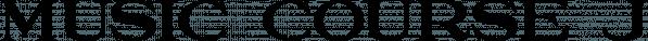 Music Course JNL font family by Jeff Levine Fonts