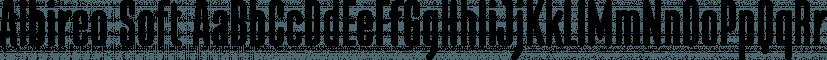 Albireo Soft font family by Cory Maylett Design