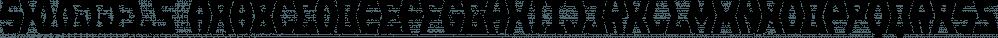 Snuggels font family by Ingrimayne Type