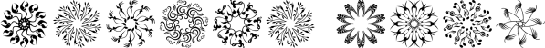Karika Encore font family by Deniart Systems