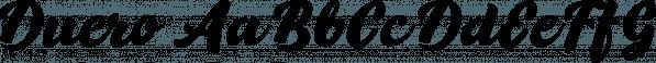 Duero font family by Eurotypo