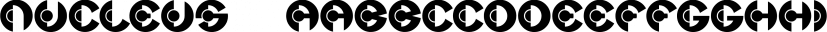 Nucleus™ font family by MINDCANDY