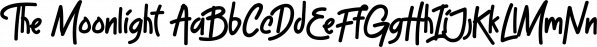 The Moonlight font family by Aiyari