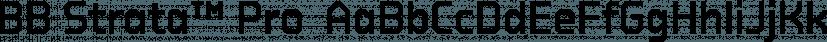BB Strata™ Pro  font family by Bold Studio