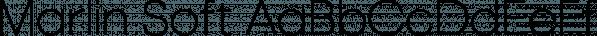 Marlin Soft font family by FontMesa