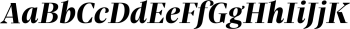 Praho Pro Bold Italic mini