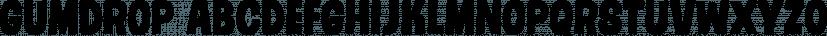Gumdrop font family by PintassilgoPrints