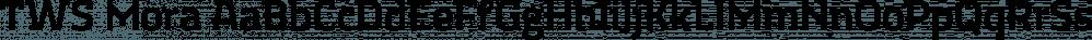 TWS Mora font family by Ten Waffle Studio