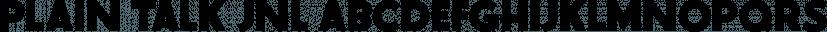 Plain Talk JNL font family by Jeff Levine Fonts