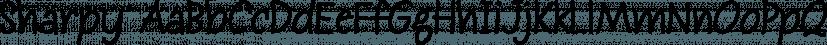 Sharpy font family by Typadelic