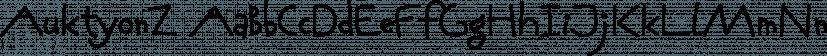 AuktyonZ font family by ParaType